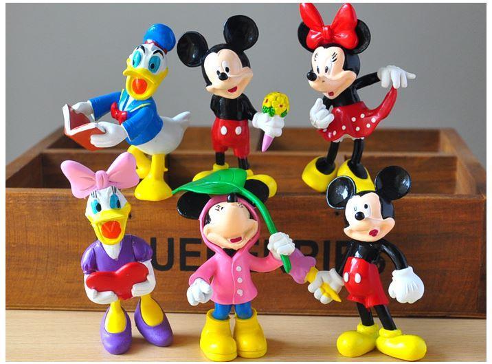 6pcs Mickey Minnie Donald Daisy Cake (end 12/8/2019 3:58 PM)