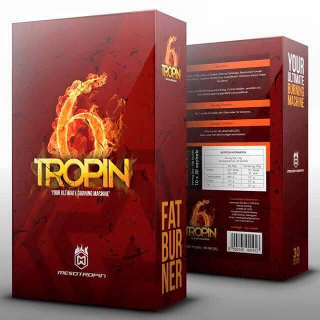 6tropin Best Hardcore Mega Fat Burner by Mesotropin ( Weight Loss )