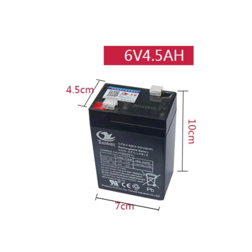 6V 4.5 AH PREMIUM Rechargeable Seal Lead Acid Battery