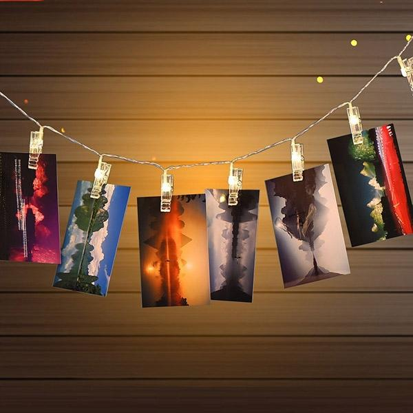 String Lights With Clips Mesmerizing 6060 Feet LED Photo Clip String Light End 6060606006060 60605 PM