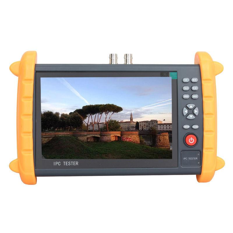 7″ LCD IPC CVBS Analog Onvif IP Camera CCTV Tester Monitor 1080P
