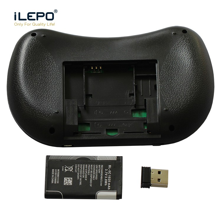 7357ab7e911 7 Colors I8 Mini Wireless Keyboard 2.4g Handheld Touchpad Rechargeable  Battery