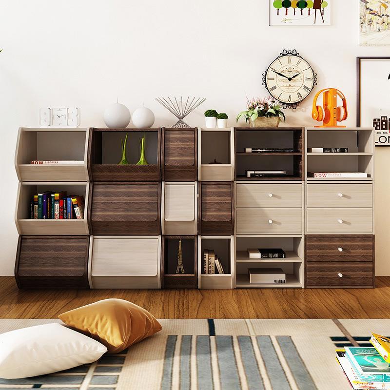 7 Design High Quality Creative Storage Cabinet Cube Bookshelf