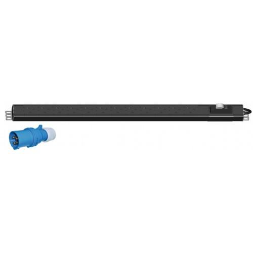 "7 Gang 19"" Power Distribution Unit (PDU) with MCB (BAM3107)"