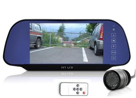 7 Inch High Definition Rear View Monitor + Camera (WCR-18).