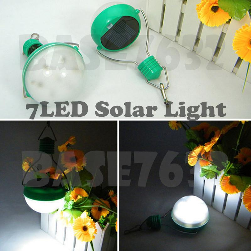 7 Led 7Led Solar Wall Light Camping Tent Outdoor Lantern N300