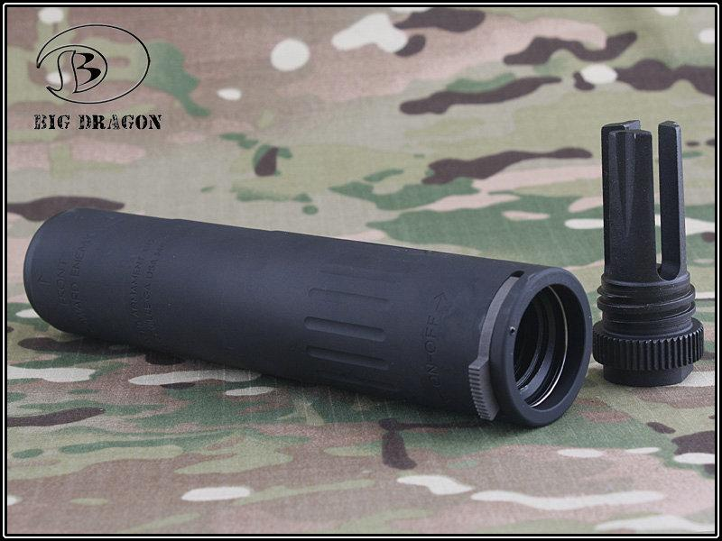 "7"" USA M4-2000 QD SILENCER BLACK"