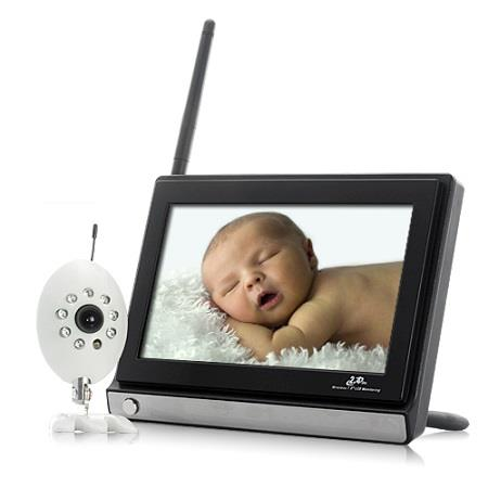 "7"" Wireless Baby Monitor with Night Vision Camera (WBM-02C) ★"