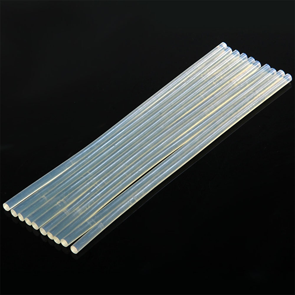 7 X 270MM TRANSLUCENT HOT MELT STICK FOR ELECTRIC GLUE GUN CRAFT ALBUM..