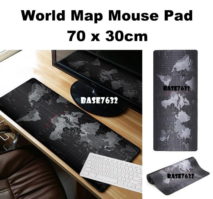 70*30cm  Large Surface Speed World Map Mousepad Mouse Pad Mat