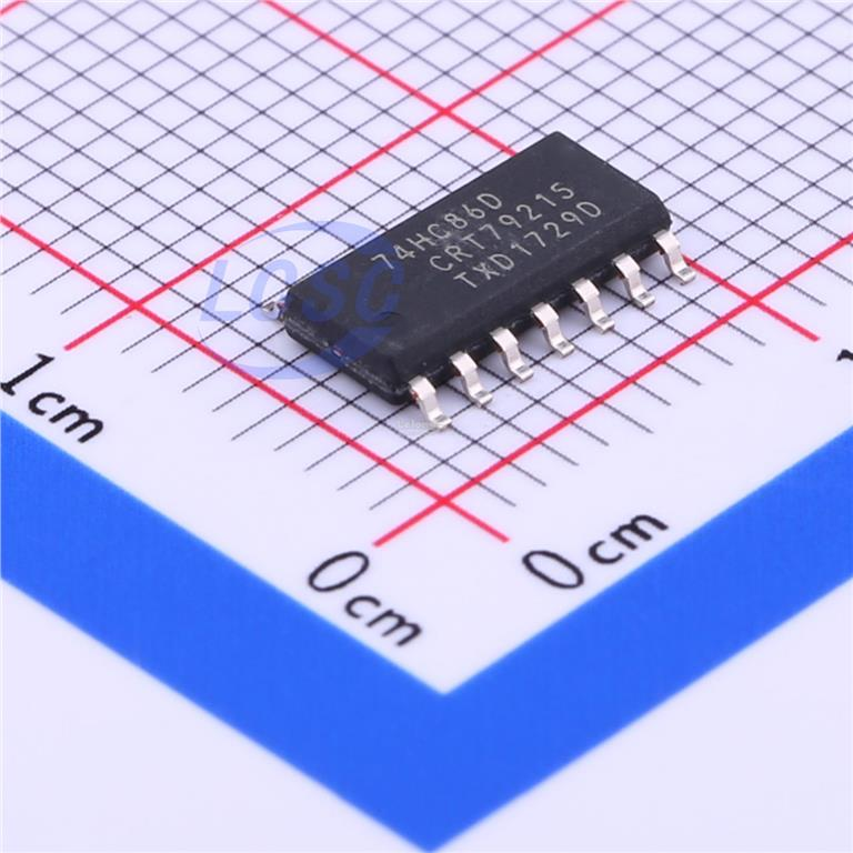 74HC86D XOR (Exclusive OR) 4 SOIC-14_150mil RoHS(10pcs)