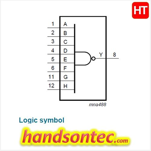 Nand Pin Diagram | Wiring Diagram Gate And Schematic Diagram on