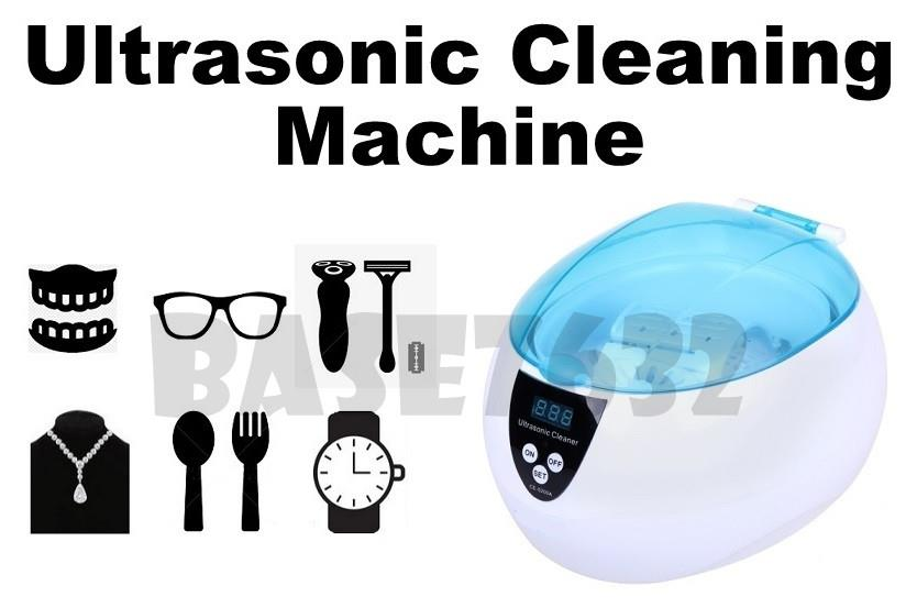 750ML  CE-5200A Digital Ultrasonic Cleaning Cleaner Device Machine