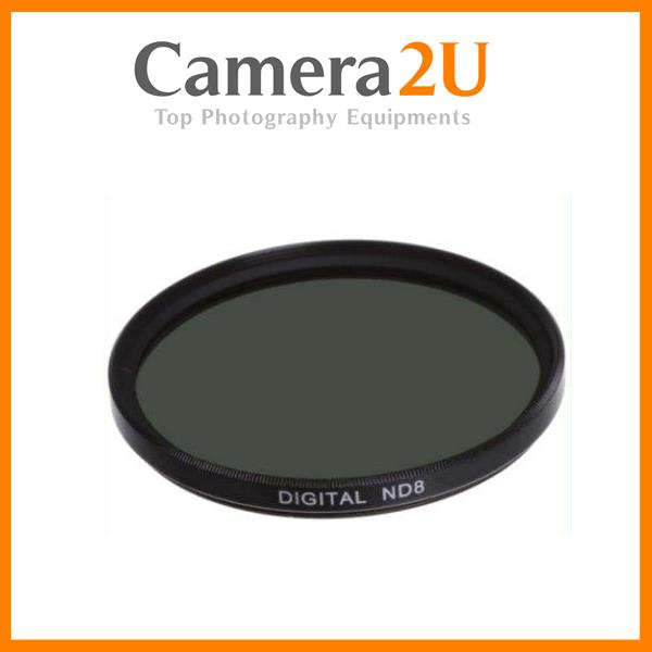 77mm ND8 Neutral Density Lens Filter / 3 f-stop