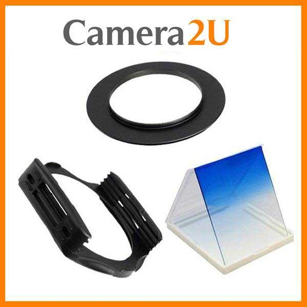 77mm SET Tianya Graduated Blue Color Square Filter for Cokin P Series