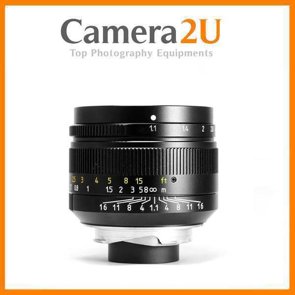 7artisans Photoelectric 50mm f/1.1 Lens for Leica M-Mount Cameras