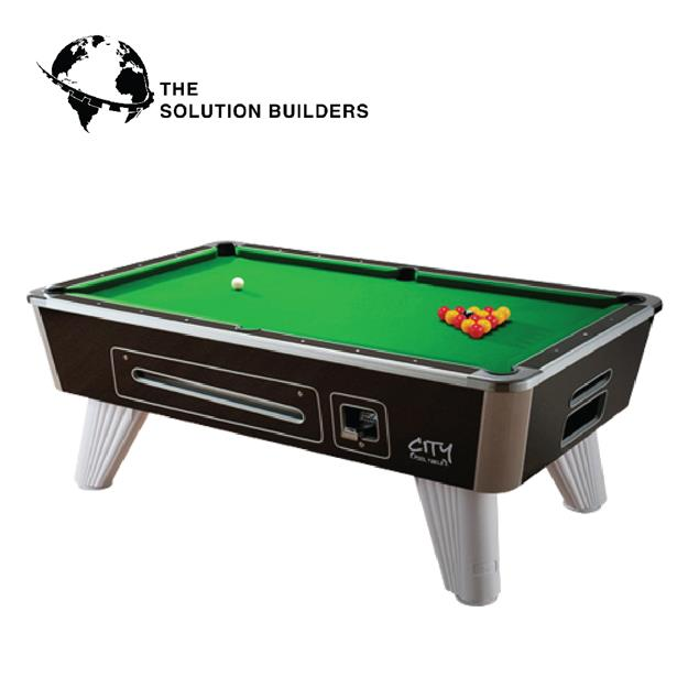 7FT CITY BRITISH POOL TABLE GAME TABLE. U2039 U203a
