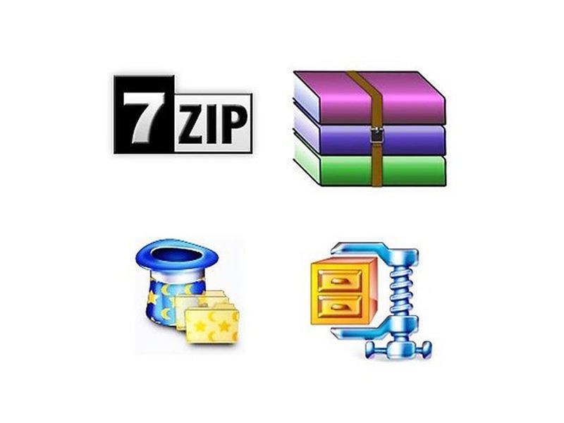 7Zip Extract and Compress Software Compatible with WinZIP Zip Unzip Wi