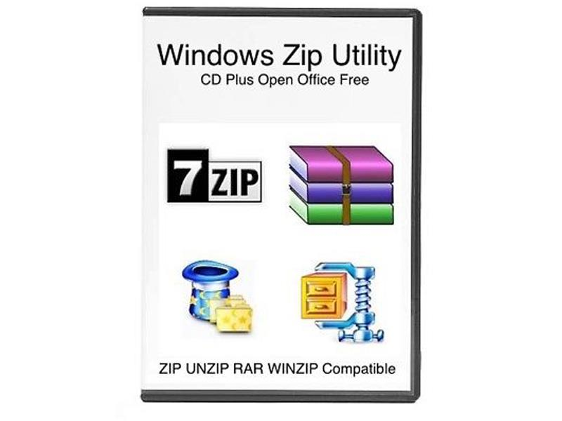 7Zip Extract and Compress Software Compatible with WinZIP Zip Unzip Wi