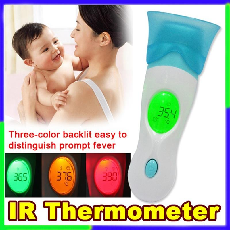 8 in 1 IR Infrared Thermometer Monitors Baby Adult Digital LCD tool
