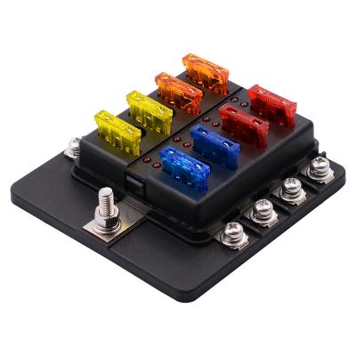 8 way 12v 24v blade fuse box holder end 2 20 2021 12 00 am rh lelong com my