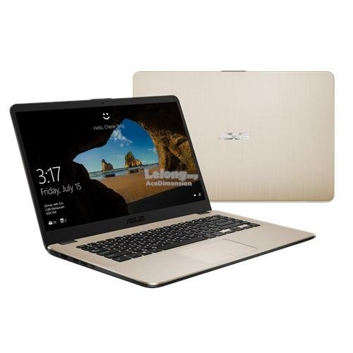 [8-Apr] Asus Vivobook X505Z-ABR488T Notebook *Gold*