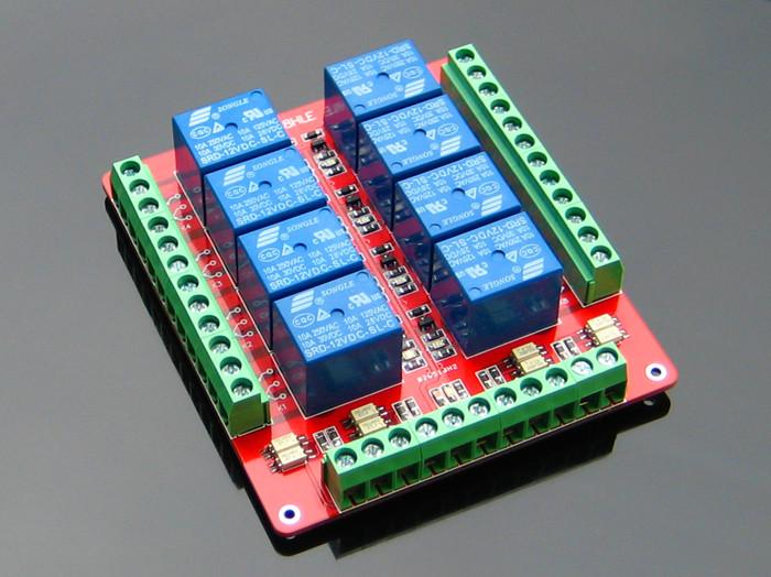 Opto-Isolated Relay Module - 4 Channels - SGBotic Pte