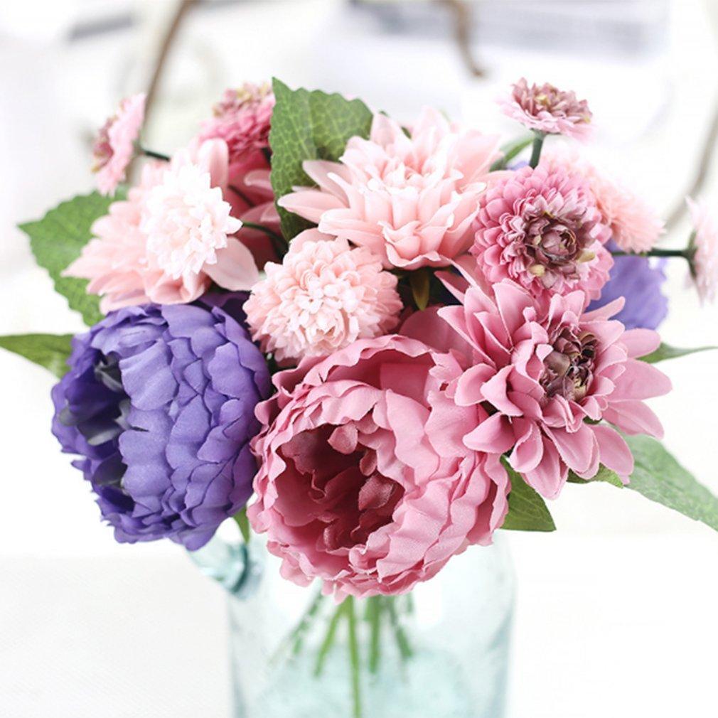 8 Heads Beautiful Artificial Flower End 8282019 1153 Am