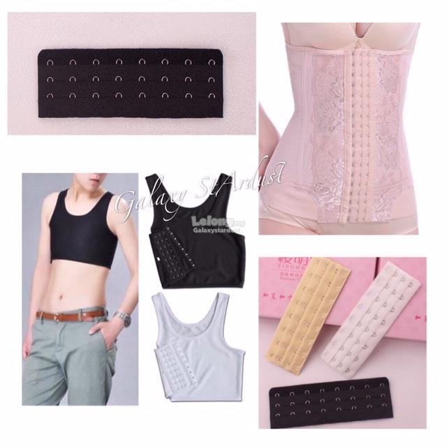 8 Hook-Chest Breast Binder-PostPartum Abdominal Extender-Adjustable