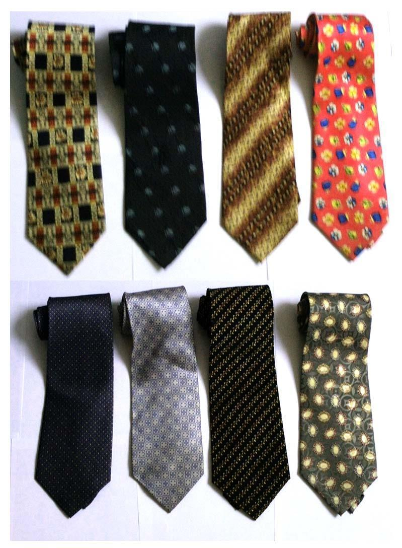 8 Korean Silk Ties - Good Quality (new) Made in S. Korea Buy/Barter