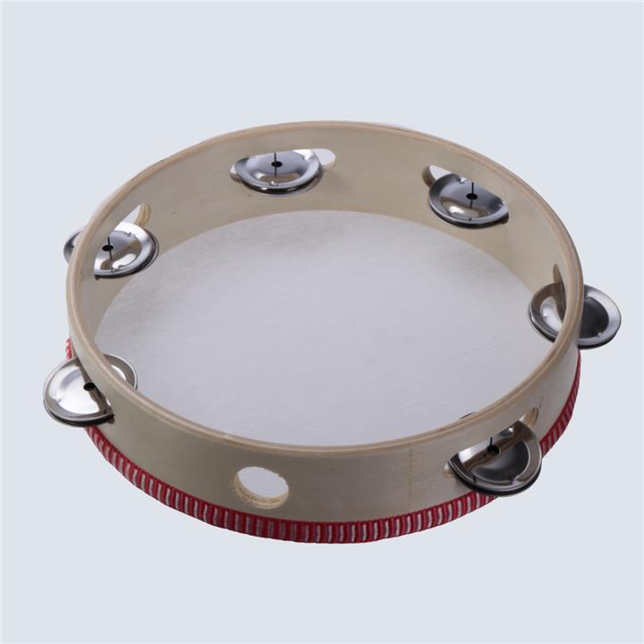 8 Musical Tambourine Tamborine Drum Round Percussion Gift For