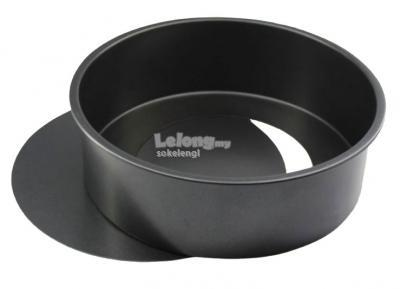 8 in Non Stick Round Cake Tin Cake Pan ( Removable Base)