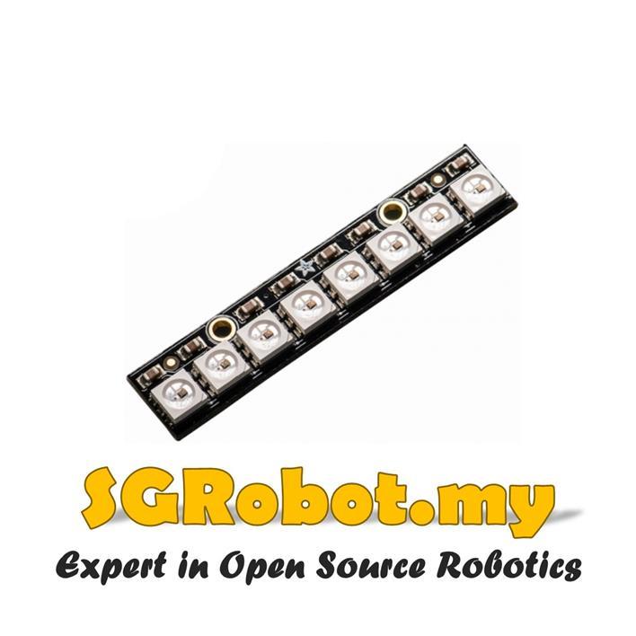 8 x WS2812 5050 RGB LED Module NeoPixel Stick