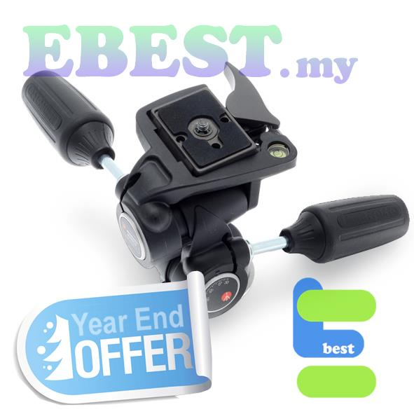 804RC2 Three Way Tripod Head with RC2 Quick Release Plate-YES