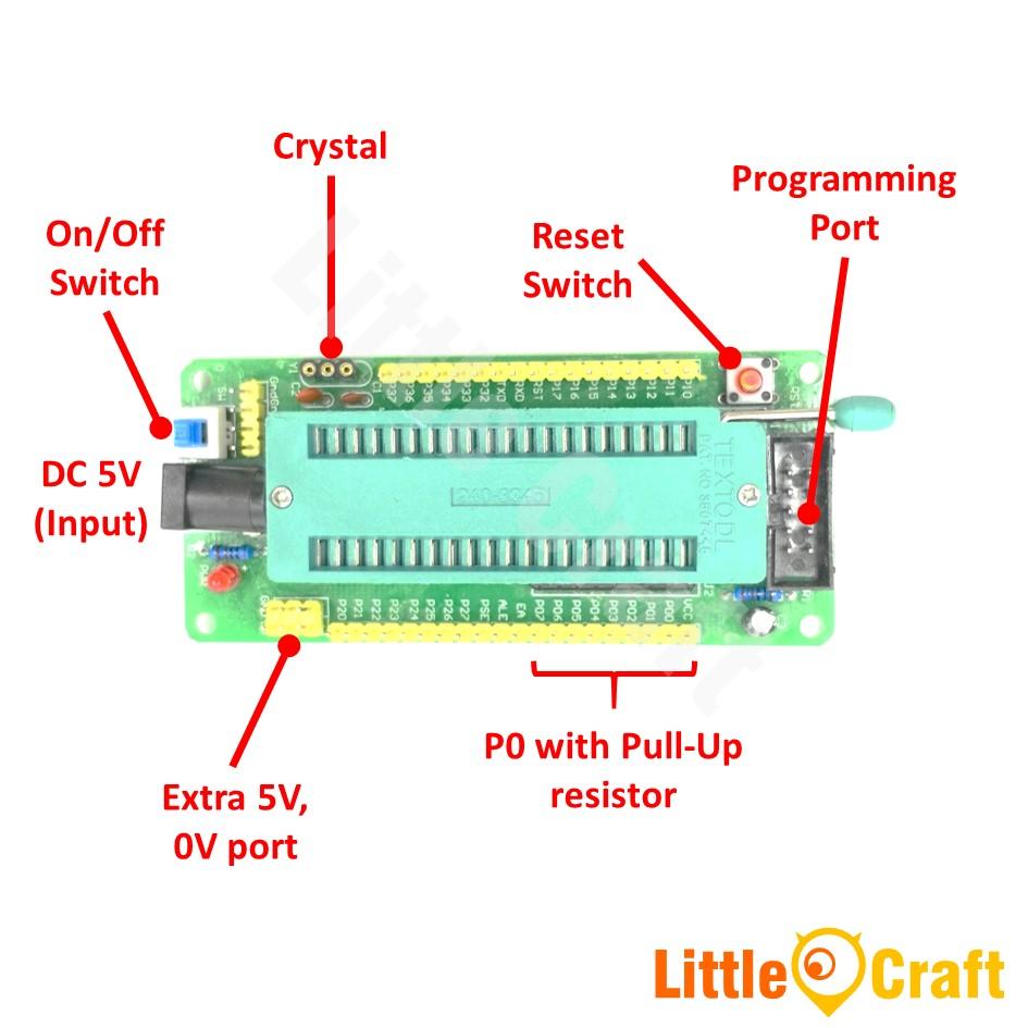 8051 Series 8 Bit Microcontroller De End 3 2021 1200 Am Gsm Modem Interfacing With At89c51 Development Module