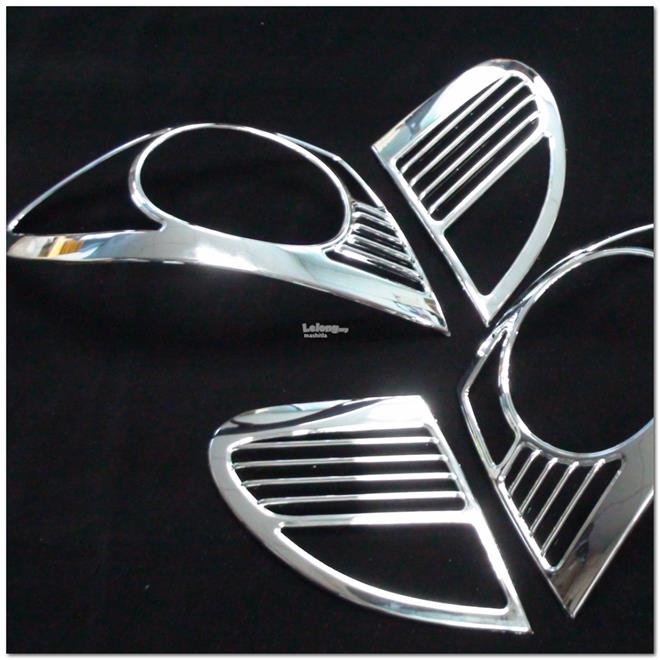 [8086] For Toyota Corolla Altis 03~07 Chrome Tail Light Trim Lamp Rim