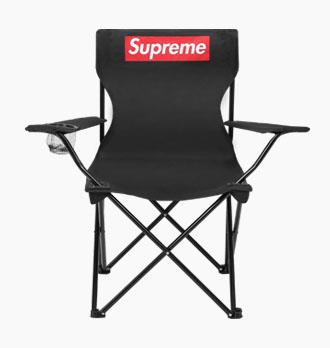 80cm Outdoor Lounge Chair Folding Beach Fabric Leisure Steel Camping