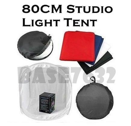 80cm  Professional Camera Light Shooting Photo Tent Studio Box