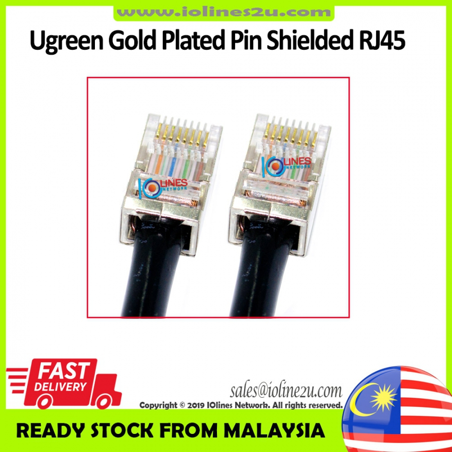 80m Outdoor Cat5e Cat 5e STP FTP LAN Network cable Ugreen RJ45 Full Copper Dou