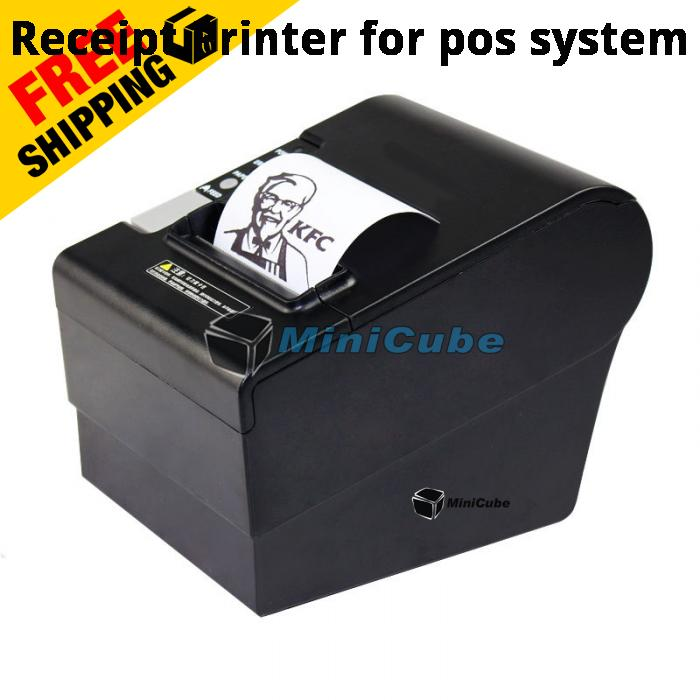 80mm Thermal Receipt Printer for Pos system USB+NETWORK Port