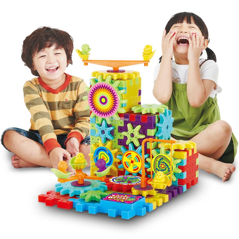 81 pcs Funny Bricks Construction Educational Indoor Game
