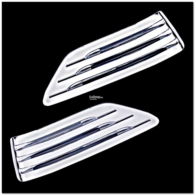 [8196] For Toyota Land Cruiser Fj90 96-02 Chrome Cover Trim Air Louver