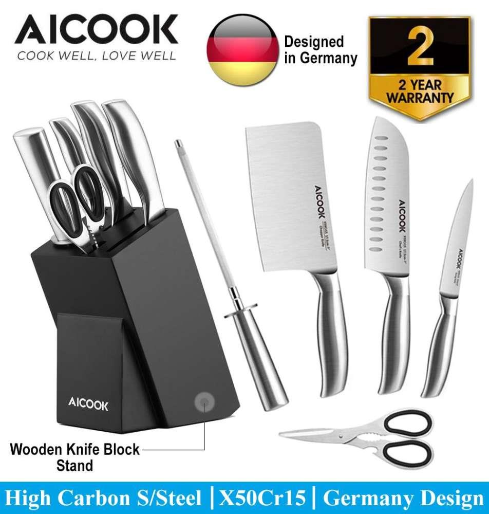​​AICOOK KFH001 German High Carbon S.Steel X50Cr15 Premium..