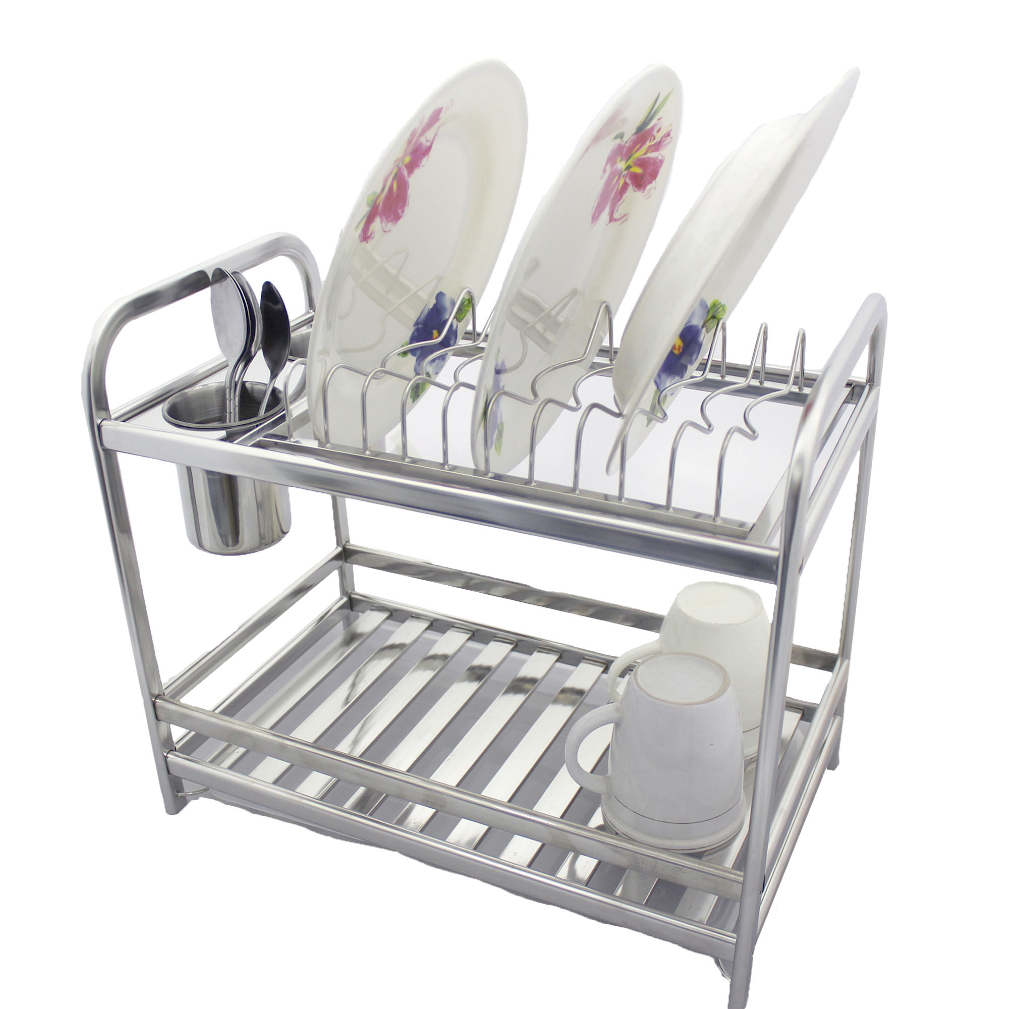As 8211 High Quality Stainless Steel Dish Drainer Rack Xc1005