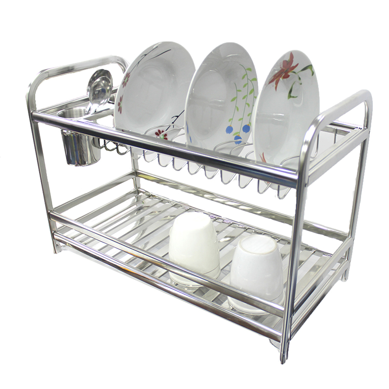 As 8211 High Quality Stainless Steel Dish Drainer Rack Xc1005b