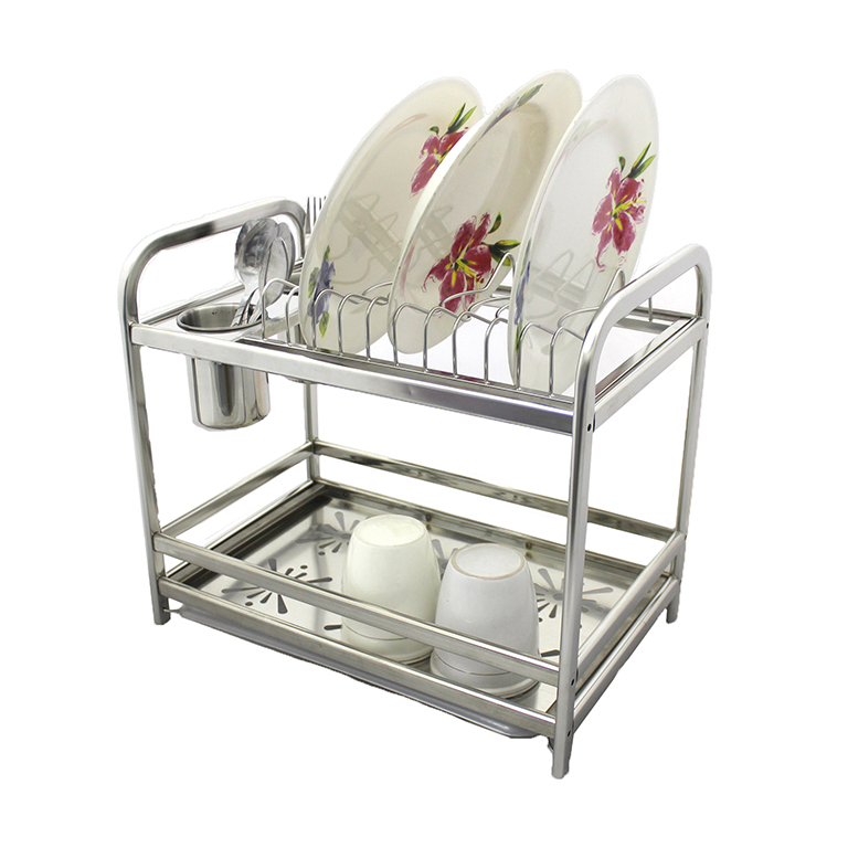 As 8211 High Quality Stainless Steel Dish Drainer Rack Xc1006
