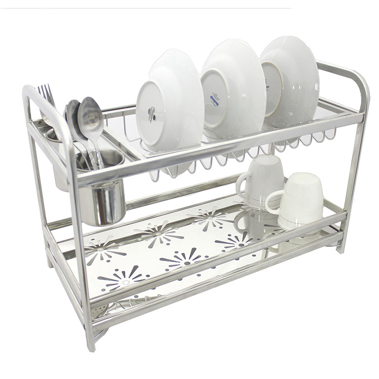 As 8211 High Quality Stainless Steel Dish Drainer Rack Xc1006b