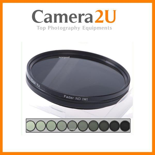 82mm Slim Variable Adjustable Fader Neutral Density ND2 - ND400 Filter