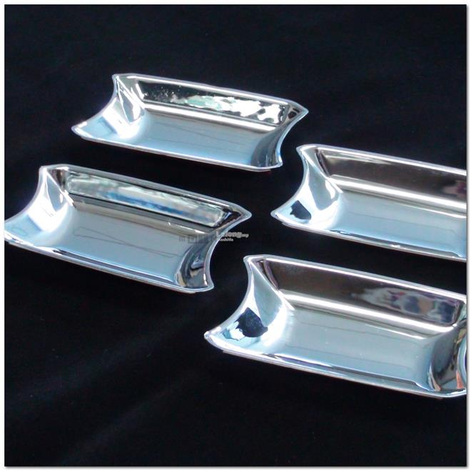 [8761] Kia Sorento 02-09 Chrome Door Handle Shell Cup Bowl Inserts Cov