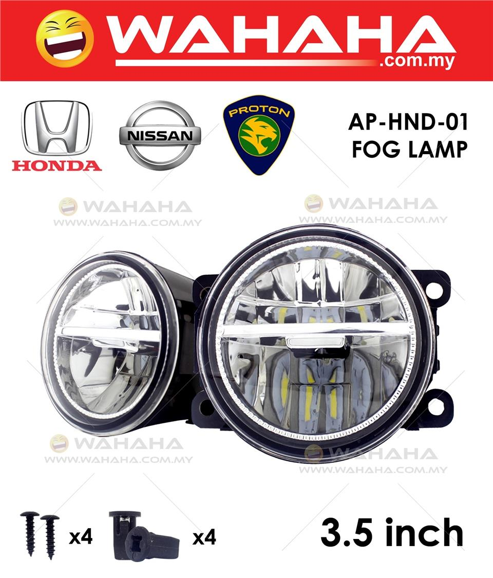 89MM 3.5'' LED SPORTLIGHT FOG LAMP X 1 PAIR FOR HONDA NISSAN PROTON